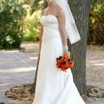 Classic beautiful wedding dress