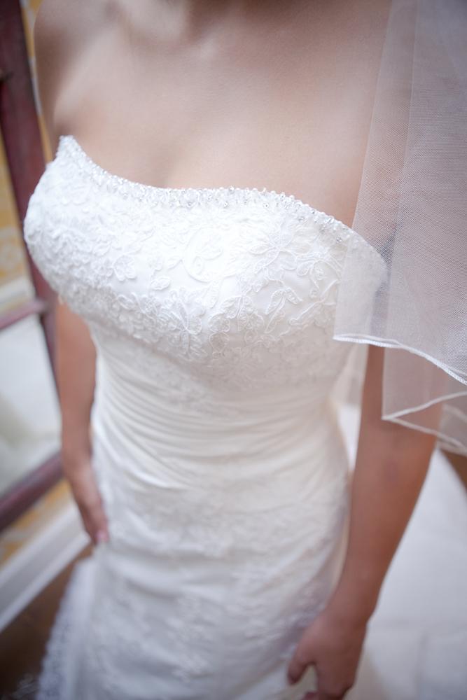 dress details bridal unique