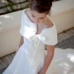 Winter bride accessories